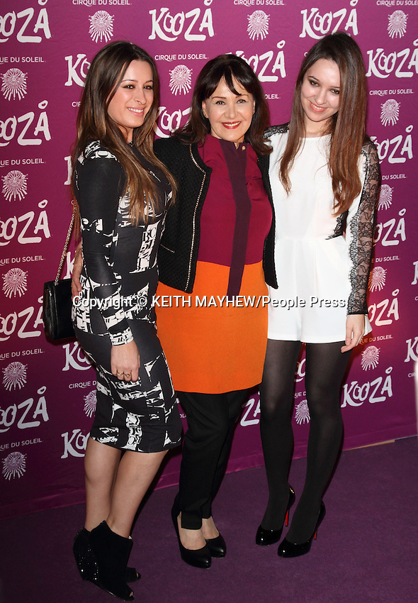 "London  - VIP Night for Cirque du Soleil's new production, ""Kooza"" at the Royal Albert Hall, London - January 8th 2013..Photo by Keith Mayhew."