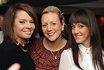 Marguerite Marron, Gillian Weldon and Laura Dineen  in The Kube on Saturday night. Picture: Eamonn Keogh (MacMonagle, Killarney).
