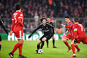 December 5th 2017, Allianze Arena, Munich, Germany. UEFA Champions league football, Bayern Munich versus Paris St Germain;  ADRIEN RABIOT (psg) takes on James Rodríguez (bay)