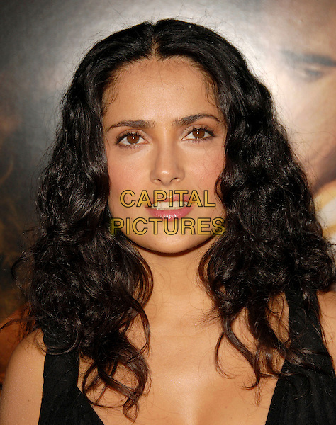 "SALMA HAYEK.Paramount Pictures' Los Angeles Premiere ""Ask the Dust"" held at The Egyptian Theatre in Hollywood, California, USA..March 2nd, 2006.Ref: DVS.headshot portrait.www.capitalpictures.com.sales@capitalpictures.com.Supplied By Capital PIctures"