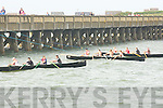 CURRACK: Off they go in the currach race in conjuction with the Fenit regatta on Sunday.
