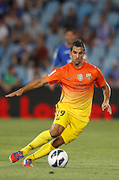15.09.2012 SPAIN -  La Liga 12/13 Matchday 4th  match played between Getafe C.F. vs F.C. Barcelona (1-4) at Alfonso Perez stadium. The picture show Maxwell Scherrer Cavelino Andrade (Brazilian defender of Barcelona)
