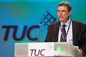 Dave Prentis, General Secretary of Unison, addresses the Trades Union Congress annual conference, Brighton.