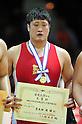 Nobuyoshi Arakida, DECEMBER 21, 2011 - Wrestling : All Japan Wrestling Championship Men's Free Style -120kg Final at 2nd Yoyogi Gymnasium, Tokyo, Japan. (Photo by Jun Tsukida/AFLO SPORT) [0003]