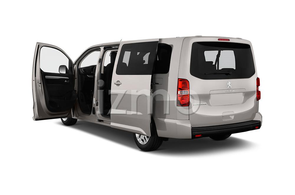 Car images close up view of a 2018 Peugeot Traveller Business 4 Door Mini Van doors