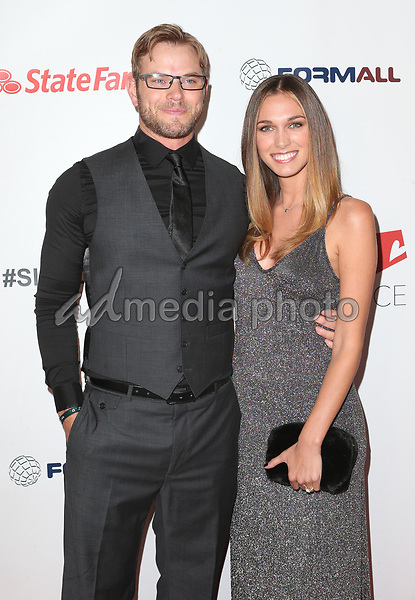 30 September 2017 - Los Angeles, California - Kellan Lutz, Brittany Gonzales. 6th Annual Saving Innocence Gala held at Loews Hollywood Hotel. Photo Credit: F. Sadou/AdMedia