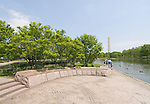 Washington DC; USA: Constitution Gardens, on the Mall .Photo copyright Lee Foster Photo # 13-washdc79561