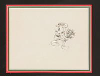 BNPS.co.uk (01202 558833)<br /> Pic: Heritage Auctions/BNPS<br /> <br /> PICTURED: 'Puppy Love' Mickey Mouse Animation Drawing from 1933<br /> <br /> A vast collection of original hand-drawn animations from classic Disney movies has emerged for sale at auction.<br /> <br /> Nearly 300 lots have been put up for sale with animation drawings, original concepts, layouts and storyboards among the most appealing items.<br /> <br /> It is believed the group is the largest collection of original hand-drawn Disney animation ever offered in a single auction.
