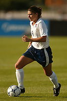 Mia Hamm scored two goals as the USWNT defeated Russia 5-1 on  September 29, at Mitchel Athletic Complex, Uniondale, NY.