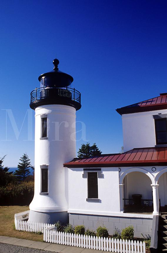 Admiralty Head Lighthouse Whidbey Island Washington