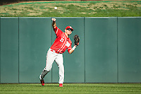 Ryan Boldt (21) of the Nebraska Cornhuskers throws during the 2015 Big Ten Conference Tournament between the Illinois Fighting Illini and Nebraska Cornhuskers at Target Field on May 20, 2015 in Minneapolis, Minnesota. (Brace Hemmelgarn/Four Seam Images)