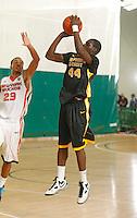 April 9, 2011 - Hampton, VA. USA;  Junior Lomomba participates in the 2011 Elite Youth Basketball League at the Boo Williams Sports Complex. Photo/Andrew Shurtleff