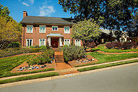 Part of a photography collection showing the variety of architectural styles of homes, apartments and condos in metropolitan Charlotte, NC. Image taken on Phillips Gate Drive, Charlotte