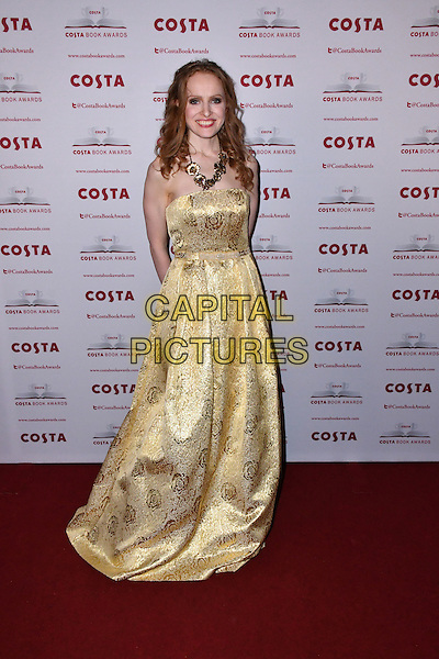 Kate Williams<br /> Costa Book Of The Year Award 2016, at Quaglino&rsquo;s, London, England on January 31, 2017.<br /> CAP/JOR<br /> &copy;JOR/Capital Pictures