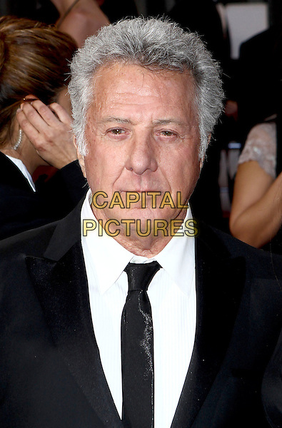 Dustin Hoffman.85th Annual Academy Awards held at the Dolby Theatre at Hollywood & Highland Center, Hollywood, California, USA..February 24th, 2013.oscars headshot portrait black white tie suit shirt .CAP/ADM/SLP/COL.©Colin/StarlitePics/AdMedia/Capital Pictures