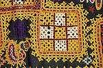 ANTIQUE GHODIYU OR CRADLE HAMMOCK CLOTH RJPUT TRIBE KUTCH GUJARAT