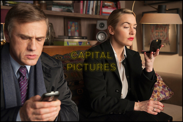 CHRISTOPH WALTZ & KATE WINSLET.in Carnage.*Filmstill - Editorial Use Only*.CAP/FB.Supplied by Capital Pictures.
