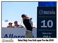 Chris Paisley (ENG) tees off the 10th tee during Wednesday's Pro-Am of the 2018 Dubai Duty Free Irish Open, held at Ballyliffin Golf Club, Ireland. 4th July 2018.<br /> Picture: Eoin Clarke | Golffile<br /> <br /> <br /> All photos usage must carry mandatory copyright credit (&copy; Golffile | Eoin Clarke)