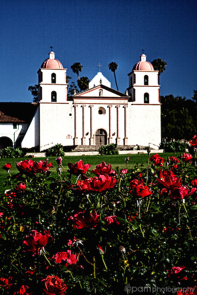 Summertime at a California mission