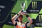 June 11th 2017, Barcelona Circuit, Montmelo, Catalunya, Spain; MotoGP Grand Prix of Catalunya, Race Day; Dani Pedrosa (Repsol Honda) takes 2nd place in the race