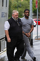 Pictured: Sochi Ezeemo arrives at Cardiff Crown Court, Cardiff, Wales, UK. Friday 27 September 2019