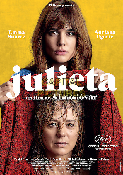 Julieta (2016) <br /> POSTER ART<br /> *Filmstill - Editorial Use Only*<br /> CAP/KFS<br /> Image supplied by Capital Pictures