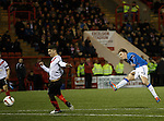 Lewis Macleod scores the opener for Rangers
