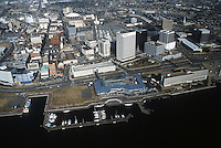 1986 January ..Redevelopment.Downtown South (R-9)..DOWNTOWN WATERFRONT.LOOKING NORTH.WATERSIDE...NEG#.NRHA#..