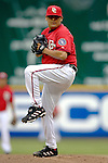 21 May 2006: Chad Cordero, pitcher for the Washington Nationals, on the mound against the Baltimore Orioles at RFK Stadium in Washington, DC. The Nationals defeated the Orioles 3-1 to take 2 of 3 games in their first inter-league series...Mandatory Photo Credit: Ed Wolfstein Photo..