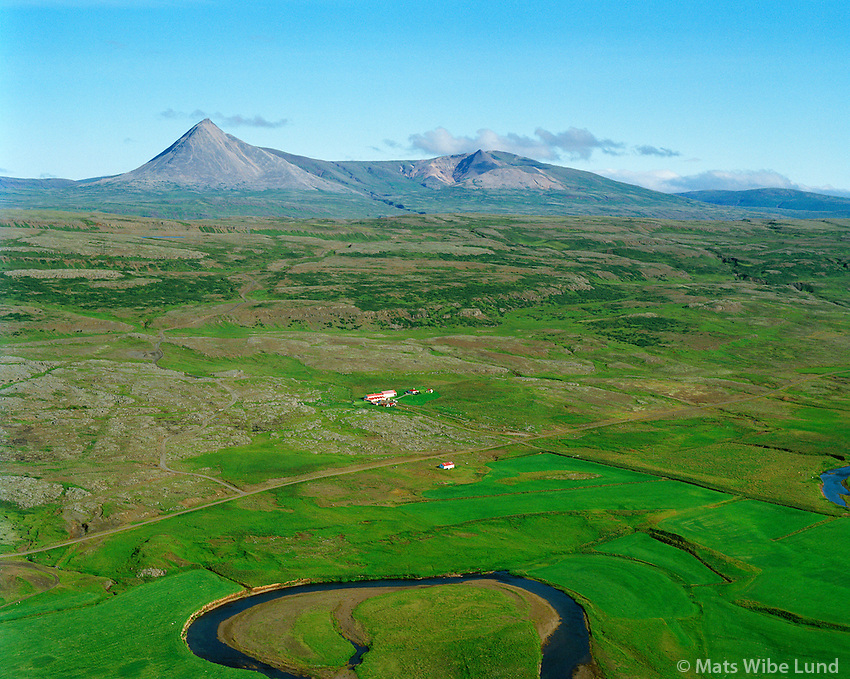 Grjót séð til norðurs, Borgarbyggð áður Þverárhlíðarhreppur / Grjot viewing north, Borgarbyggd former Thverarhlidarhreppur.