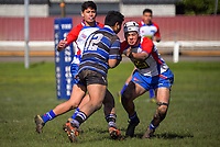 Action from the under-18 representative rugby match between Wanganui and Horowhenua Kapiti Spriggins Park in Wanganui, New Zealand on Saturday, 25 August 2018. Photo: Dave Lintott / lintottphoto.co.nz