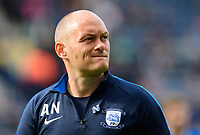 Preston North End manager Alex Neil<br /> <br /> Photographer Chris Vaughan/CameraSport<br /> <br /> The EFL Sky Bet Championship - Preston North End v Reading - Saturday 15th September 2018 - Deepdale - Preston<br /> <br /> World Copyright &copy; 2018 CameraSport. All rights reserved. 43 Linden Ave. Countesthorpe. Leicester. England. LE8 5PG - Tel: +44 (0) 116 277 4147 - admin@camerasport.com - www.camerasport.com