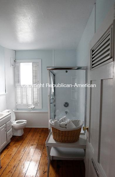Branford, CT- 01 April 2014-043014CM03- A bathroom inside the Owenego Inn along the Long Island Sound in Branford.   .   Christopher Massa Republican-American