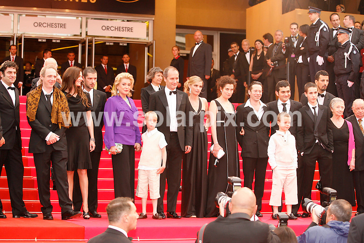 **ALL ROUND PICTURES FROM SOLARPIX.COM**.**SYNDICATION RIGHTS FOR UK, SPAIN, PORTUGAL, AUSTRALIA, S.AFRICA & DUBAI (U.A.E) ONLY**.The 2008 Cannes Film Festival the film premiere of Un Conte de Noel Premiere at the Palais de Festival in Cannes France..This pic:Un Conte de Noel Cast Photo.JOB REF:6430-PHZ/Pixplanete      DATE:16_05_08 .**MUST CREDIT SOLARPIX.COM OR DOUBLE FEE WILL BE CHARGED* *UNDER NO CIRCUMSTANCES IS THIS IMAGE TO BE REPRODUCED FOR ANY ONLINE EDITION WITHOUT PRIOR PERMISSION*