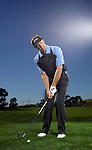 CARLSBAD - FEBRUARY 2:   Stuart Appleby of Australia practices at the Callaway Test Center on February 2, 2009 in Carlsbad, California. (Photo by Donald Miralle)