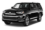 2015 Toyota 4Runner Limited 5 Door SUV angular front stock photos of front three quarter view