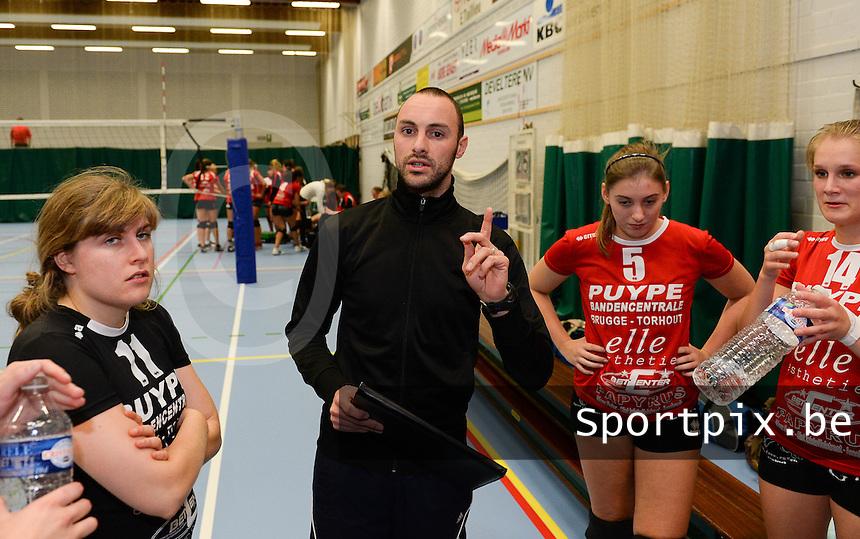 Volley Team Brugge : Yannick Van Ovenberghe<br /> foto VDB / BART VANDENBROUCKE