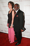 Dr. Adrienne Sprouse and her husband musical director Mario Sprouse arrive at the Gordon Parks Foundation 2014 Award Dinner and Auction on June 3, 2014 at Cipriani Wall Street, located on 55 Wall Street.