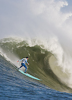Shane Desmond. Mavericks Surf Contest in Half Moon Bay, California on February 13th, 2010.