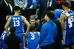 Kentucky Wildcats head coach John Calipari during their game as UK won 71-58 at the KFC Yum Center on Saturday Dec. 29, 2018 in Louisville, Ky.