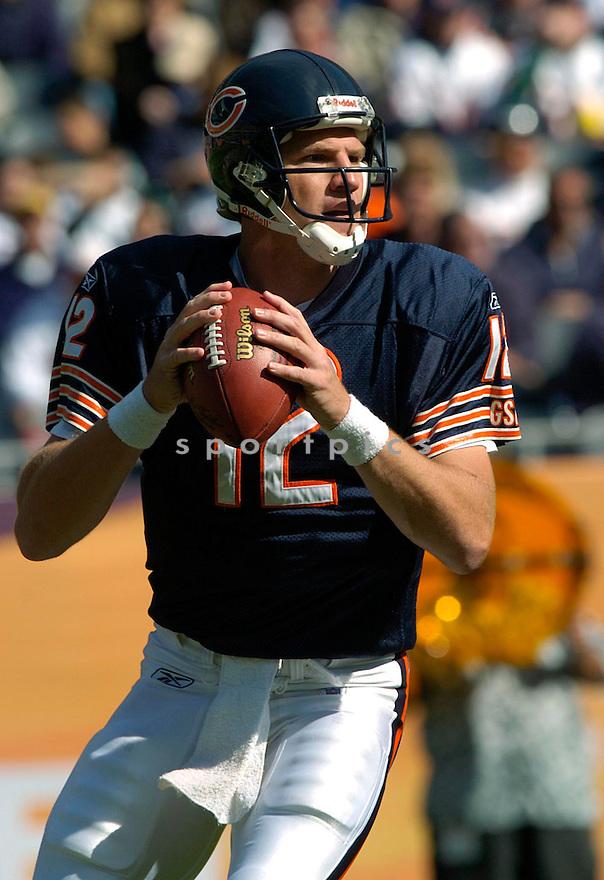 Jonathan Quinn during the Chicago Bears v. Philadelphia Eagles game on September 3, 2004..David Durochik/ SportPics