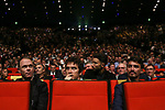 Christopher Froome (GBR), Geraint Thomas (WAL) and Julian Alaphilippe (FRA) at the Tour de France 2019 route presentation held at Palais de Congress, Paris, France. 25th October 2018.<br />