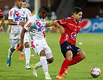 Junior venció como visitante 2-1 a Independiente Medellín. Fecha 15 Liga Águila II-2017.