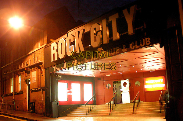 ROCK CITY.Nottingham, 28th July 2005.building gig music venue night.www.capitalpictures.com.sales@capitalpictures.com.©Capital Pictures