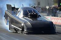 Jan. 16, 2013; Jupiter, FL, USA: NHRA funny car driver John Force during testing at the PRO Winter Warmup at Palm Beach International Raceway.  Mandatory Credit: Mark J. Rebilas-