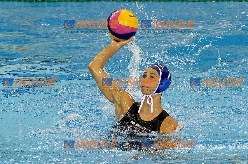 Shanghai , China (CHN) 16-31 July 2001.XIV FINA Swimming World Championships.day 02.Women's Water Polo.Kazakistan Vs Hungary...Photo Insidefoto / Giorgio Scala