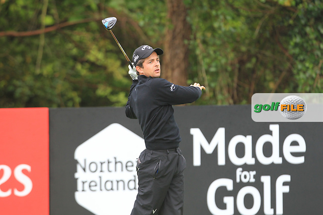 Sebastien Gros (FRA) during Thursday's Round 1 ahead of the 2016 Dubai Duty Free Irish Open Hosted by The Rory Foundation which is played at the K Club Golf Resort, Straffan, Co. Kildare, Ireland. 19/05/2016. Picture Golffile | TJ Caffrey.<br /> <br /> All photo usage must display a mandatory copyright credit as: &copy; Golffile | TJ Caffrey.