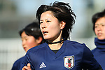 Hikaru Naomoto (JPN), JANUARY 16, 2018 -  Football / Soccer : <br /> Japan women's national team training camp <br /> in Tokyo, Japan. <br /> (Photo by Yohei Osada/AFLO)