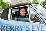 Kilflynn Vintage Car Y Cycle Rally : Pictured at the Kilflynn Vintage Car  & Motorcycle Rall on Friday evening last was Garrett Foley from Kilflynn in his Triumph Stag vintage car.