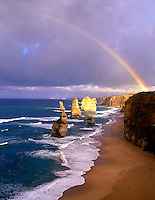 12 Apostles, sunset, Port Campbell National Park, Great Ocean Rd. Victoria, Australia.